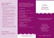 Carer Support - Alfred Hospital