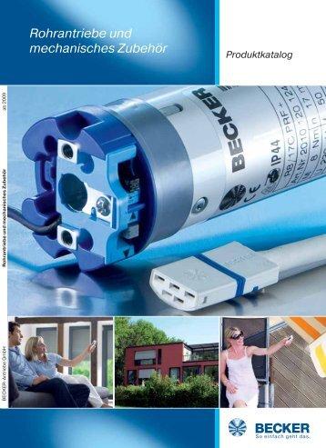 Rohrantriebe und mechanisches Zubehör - Becker-Antriebe - Home