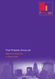 2006 Annual ReportÃ?Æ?ââ?šÃ?â?? - First Property Group plc