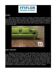mFLOR – dizaina vinila grīdas segums.pdf - Salons REvolU2ION