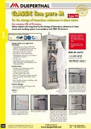 CLASSIC line pure M - dueperthal.com