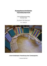 Kompetenzorientierter Technikunterricht - Bildungszentrum ...
