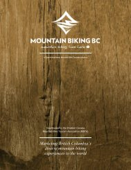 Marketing British Columbia's diverse mountain biking experiences to  ...
