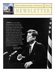 Winter 2002 - John F. Kennedy Library and Museum