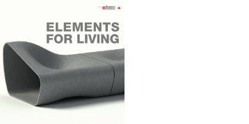 ELEMENTS FOR LIVING - Esal