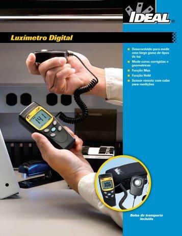 Luxímetro Digital