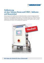 Fettdosierung - Werucon Automatisierungstechnik GmbH