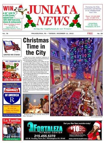 December 11, 2012 - Neilson Street