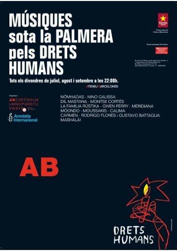 el programa de mà de tot el cicle en pdf - Amnistia Internacional ...