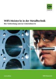 Wifi-Meister/in in der Metalltechnik