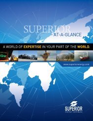 AT-A-GLANCE - Superior Energy Services