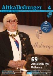 Ausgabe 4-2012/2013 - Altkalksburger Vereinigung