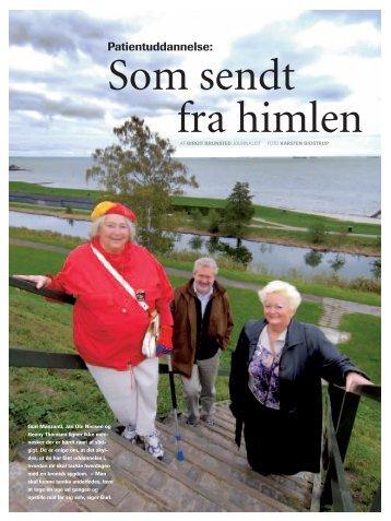 """Patientuddannelse: Som sendt fra himlen"""" (PDF)"""