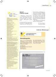 Amtliche Mitteilungen als PDF - Zahnärzteblatt Baden-Württemberg