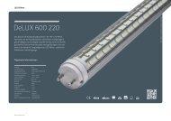 DeLUX 600 220° - Lichtline