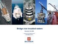 Bridge over troubled waters - Bourbon