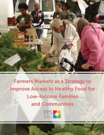 Farmers Markets as a Strategy to Improve Access to Healthy Food ...