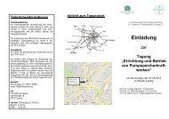 Errichtung und Betrieb von Pumpspeicherkraft- werken
