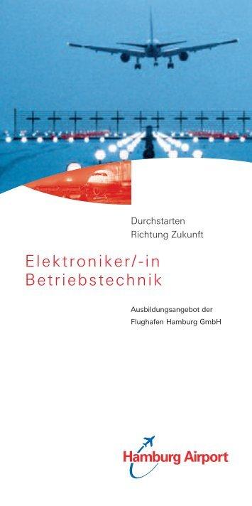 Elektroniker/-in Betriebstechnik