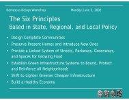 The Six Principles