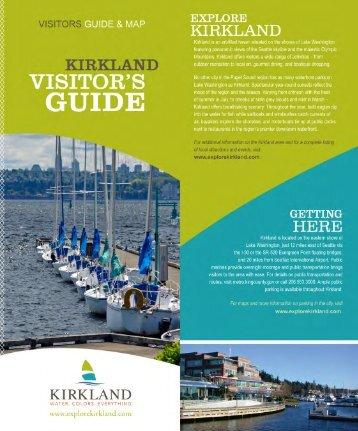 Visitor's Guide - ExploreKirkland