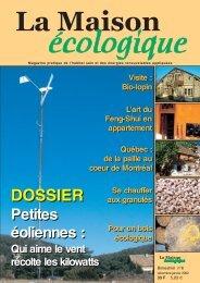 PAO La Maison écologique n°6