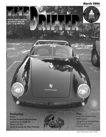 Featuring - Sacramento Valley Region - Porsche Club of America