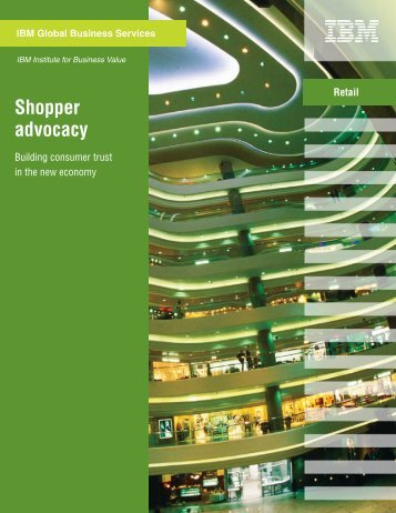 Shopper advocacy: Building consumer trust in the new ... - RIS News