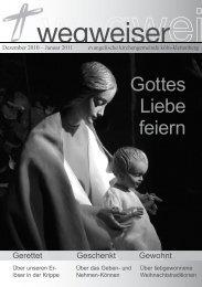 Gottes Liebe feiern - Lesenswert - Evangelische Kirchengemeinde ...
