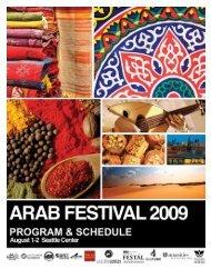 Arab Festival Program Guide - Washington Moroccan Association