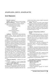 Anafilaxia.Socul anafilactic - Cursul national de ghiduri si protocoale ...