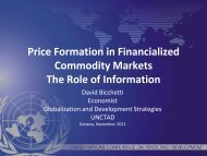 Presentation of Mr. Bicchetti - Sustainable Finance Geneva