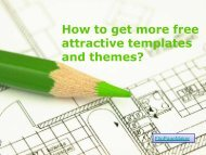 How to get more free attractive templates and ... - I-Newswire.com