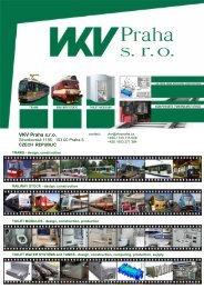 VKV Praha sro - company introduction