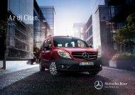 Az új Citan. - Mercedes-Benz Magyarország