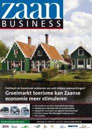 Groeimarkt toerisme kan Zaanse economie meer ... - Zaanbusiness