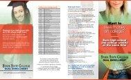 Dual Enrollment Brochure - Stark State College