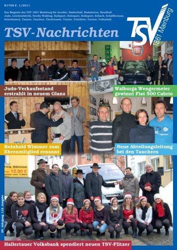TSV-Nachrichten 1/2011