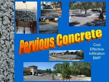 Pervious Concrete - California Coastal Commission