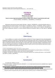 vyhláška č. 252/2004 Sb., kterou se stanoví hygienické požadavky ...