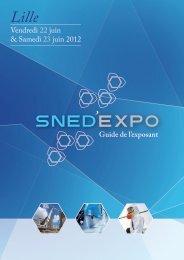 Vendredi 22 juin & Samedi 23 juin 2012 Guide de l'exposant - SNED