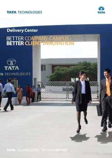 COMPANY CAMPUS CLIENT INNOVATION - Tata Technologies