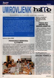 'Umirovljenik', broj 3/2005. - Hrvatski zavod za mirovinsko osiguranje