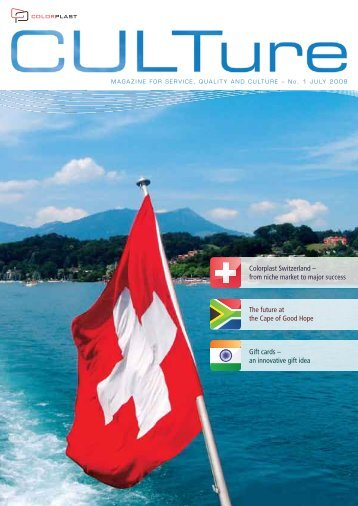 Colorplast Switzerland – from niche market to major success The ...