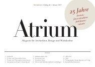 25 Jahre - Archithema Verlag AG