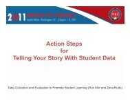 Action Steps for Telling Your Story With Student Data