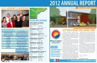 2012 Annual Report online - Mesa County Libraries