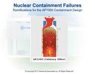 FAI Nuclear Containment Failures & the AP1000 1-10-11