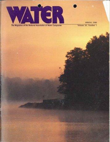 Vol 30, No. 1 - NAWC