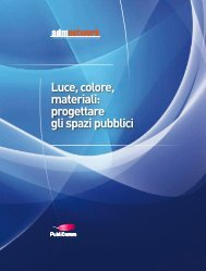Luce, colore, materiali: progettare gli spazi pubblici - A+D+M Network